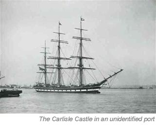 The Carlisle Castle in an unidentified port