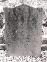 Jane Scott headstone