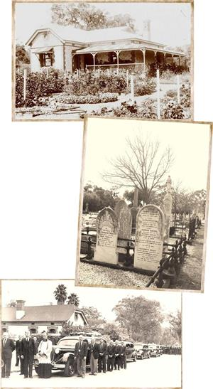 Historical photos of Fremantle Cemetery