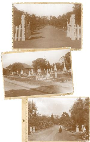 Karrakatta Cemetery in the 1930s