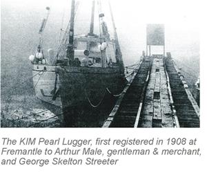 The Kim Pearl Lugger first registered to Arthur Male