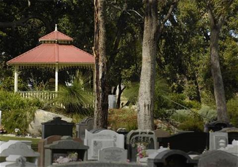 Gazebo Garden at Fremantle Cemetery